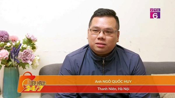 Chia sẻ của anh Ngô Quốc Huy về điều trị viêm xoang bằng Đông y trên VTC6