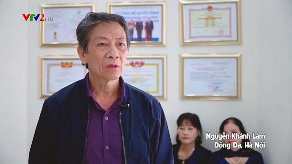 Chia sẻ của bác Nguyễn Khánh Lâm về điều trị viêm xoang bằng Đông y trên VTV2