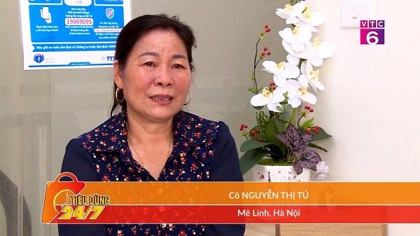 Chia sẻ của cô Nguyễn Thị Tú về điều trị viêm xoang tại Phòng khám Đông y Phúc Thành trên VTC6